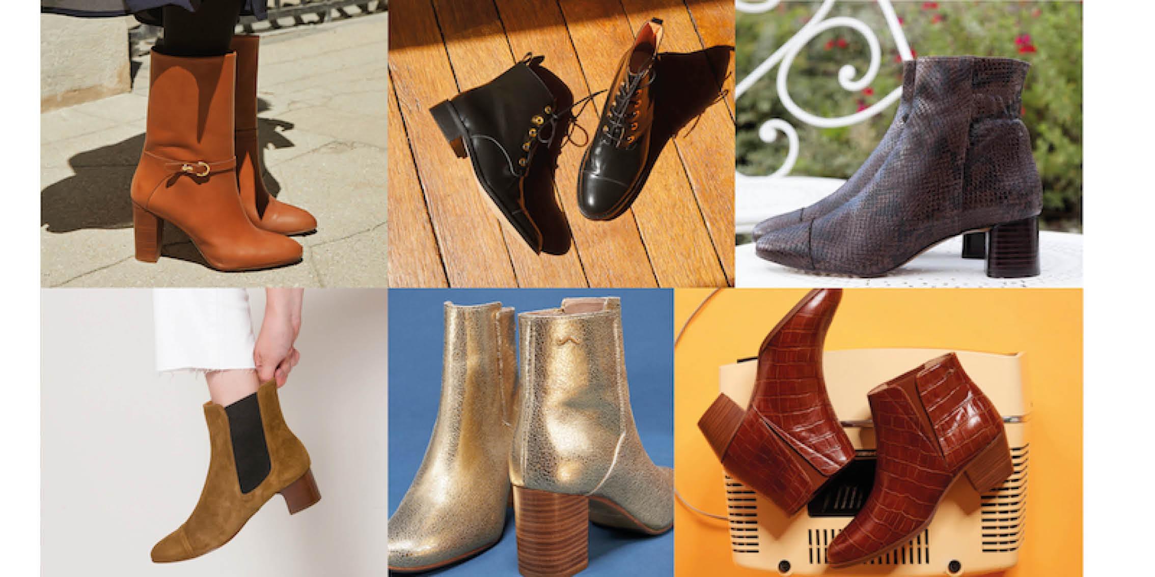 Les bottes et bottines chez La Malle Française