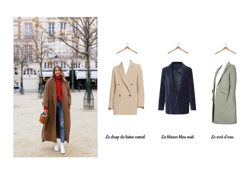 Des idées de pièces à shopper, trouvez LE manteau qui vous correspond