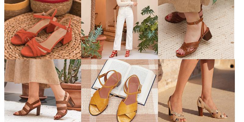 Les sandales plates ou à talons